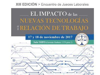 XIII Encuentro de Jueces Laborales